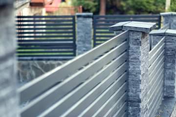 Pose de clôtures en aluminium dans la région de Saint-Quentin